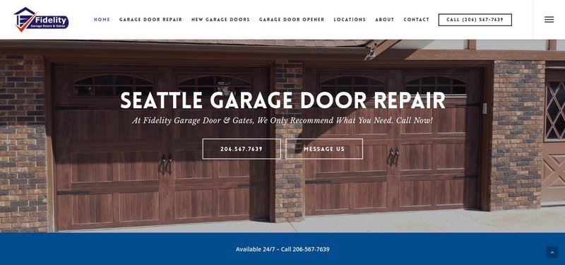 seo noble seo work for fidelity garage door